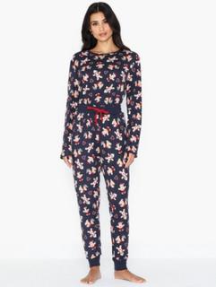 Chelsea Peers Gingerbread Man Long PJ Set Pyjamasser & hyggetøj