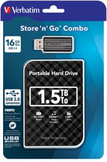 1.5TB Hard Drive 2,5 Store N Go bundle