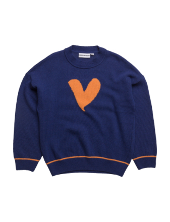 The Knitted Jumper Jumbo Love Heart