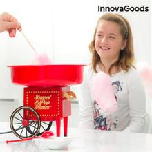 InnovaGoods Candyflossmaskine 500W Rød