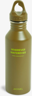 Monki x Mizu water bottle - Green