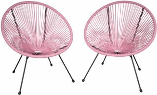 2 Havestole Gabriella - pink