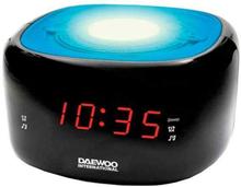 Clockradio Daewoo DCR-440BL LED FM Blå