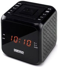 Clockradio Daewoo DCR-450 Sort