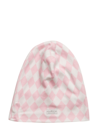 Pink Square Beanie