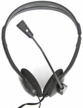 Hovedtelefoner med mikrofon Omega Fiesta FIS1010 Sort