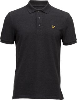 Polo Shirt Polos Short-sleeved Sort Lyle & Scott