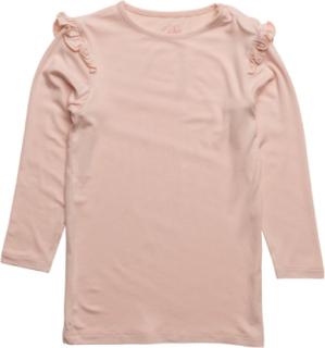 T-Shirt Langærmet T-shirt Lyserød Petit By Sofie Schnoor