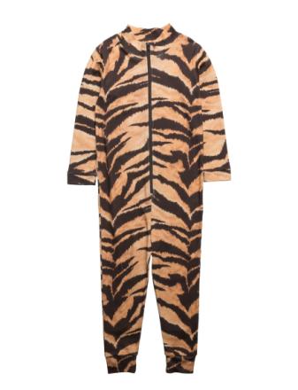 Lecce Jumpsuit Brown Tiger Aop - Boozt