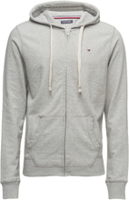 Zip Thru Hoody Night & Loungewear Hoodies Grå Tommy Hilfiger
