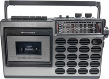 Soundmaster Retro radio med kassett
