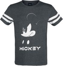 Mickey Mouse - Mikke -T-skjorte - mørkegrå melert