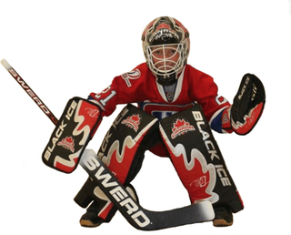 Målvaktset streethockey canada