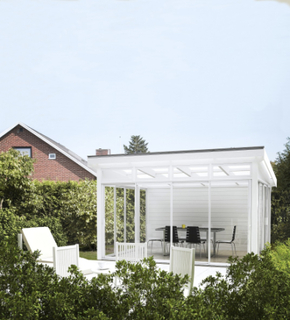 Skånska Byggvaror Komplett Uterum 41x36 (14,5 m²)-Ja-Sommar