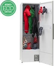Nimo Torkskåp Eco Dryer 2.0 HP Extreme Vit, Vänsterhängd