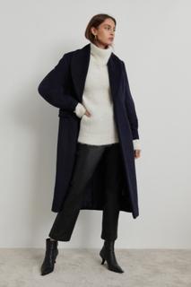 Georgie wool blend coat