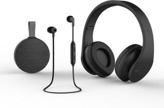 Havit S01BT Sound 3i1 pakke. 2x høretelefoner + højttaler.