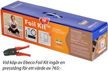 Ebeco Foil Golvvärmefolie för Trä- och Laminatgolv 14 m2