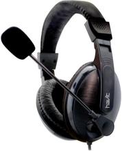 Havit Basicline Headphones med mikrofon. Model: HV-H139D. Sort.