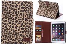 Leopard cover til iPad Mini 1/2/3. Brun. Uden dvalefunktion.