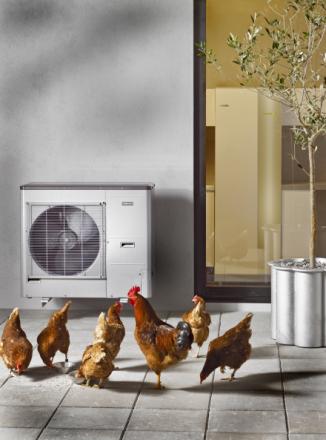 NIBE Luft/Vatten-Värmepump F2030 7 kW