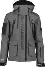 Superdry M Ultimate Snow Rescue Jacket Lasketteluvaatteet BLACK TEX ROCK
