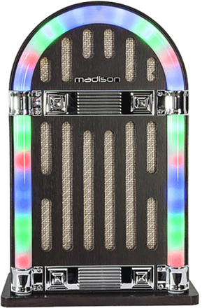 Rechargeable vintage Jukebox with Bluetooth
