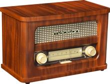 Rechargeable vintage Radio w. Bluetooth & FM