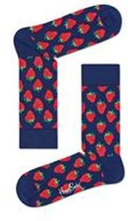 Happy Socks Happy Socks Strawberry Sock Blue Pattern