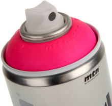 UV spraypaint 400 ml. Flourescent Pink