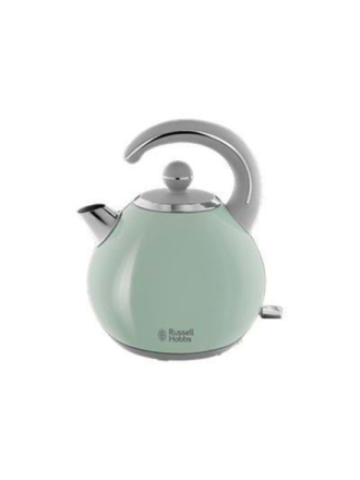 Vedenkeitin Bubble - Pastel green/shiny stainless steel - 2400 W