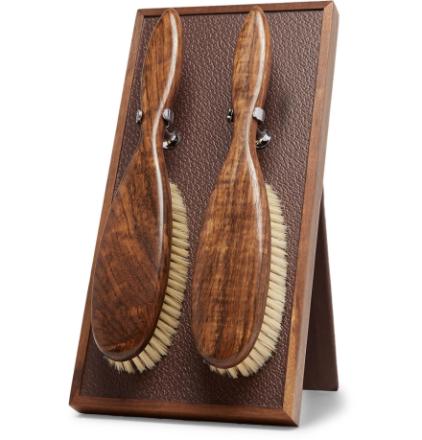 Cloth Brush Set - Brown