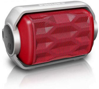Bärbar Bluetooth-högtalare Philips BT2200R / 00 2,8W Red