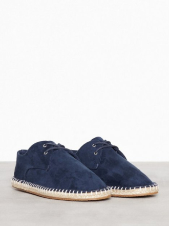 River Island Lace Up Espadrille Loaferit & tohvelit Navy