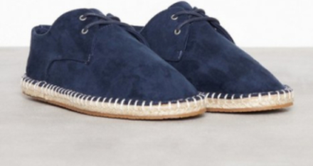River Island Lace Up Espadrille Loafers & slippers Navy