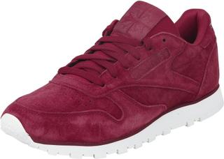 Reebok - CL LTHR -Sneakers - burgunder