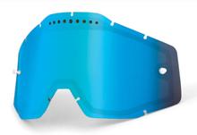 100% Vented Dual Vaihtolinssit, blue / mirror 2020 Ajolasitarvikkeet