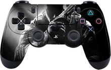 Sony PlayStation 4 - PS4 controller durable adhesive sticker - Soldier Looking Cool