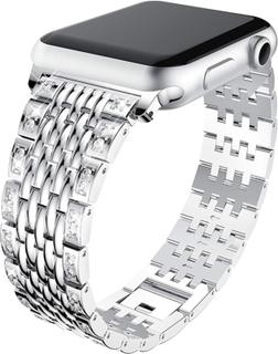 Apple Watch Series 4 40mm diamond décor watch band - Silver