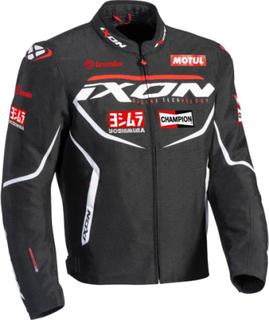 Ixon Matrix Evo Motorcykel textil jacka Svart Vit Röd 3XL