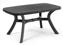 Toscana matbord Antracit 145x95 cm