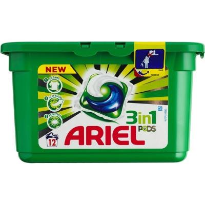 Ariel Pods 3-in-1 White 12 stk