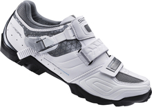 Shimano WM64 SPD Women's Cycling Shoes - White/Black - EUR 37 - White