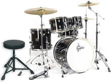 Gretsch Energy Studio Black Drumset