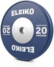 Eleiko Vektskive IWF Weightlifting Competition, 20 kg, blå, Eleiko Vektskiver 50 mm