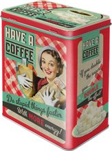 Kaffeburk have a coffee