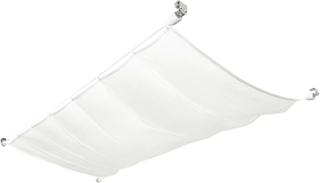 vidaXL solsejl til terrassen komplet sæt oxford-stof 140 x 270 cm