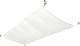 vidaXL solsejl til terrassen komplet sæt oxford-stof 140 x 420 cm