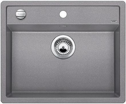 Blanco Dalago 6-F MX Køkkenvask 60,5x50 cm, Silgranit, Aluminium