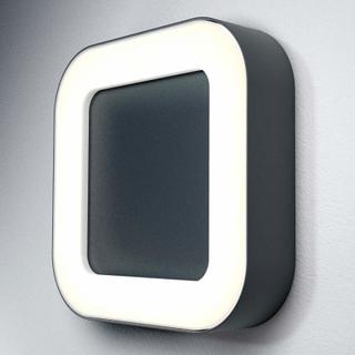 Utendørs LED-lampe Endura Style Square, mørkegrå